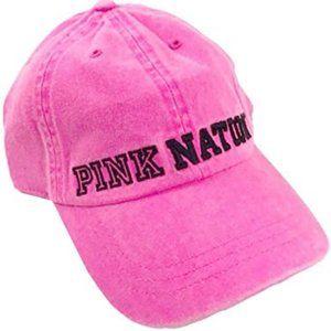NWT Victoria's Secret Pink Neon Pink Nation Hat